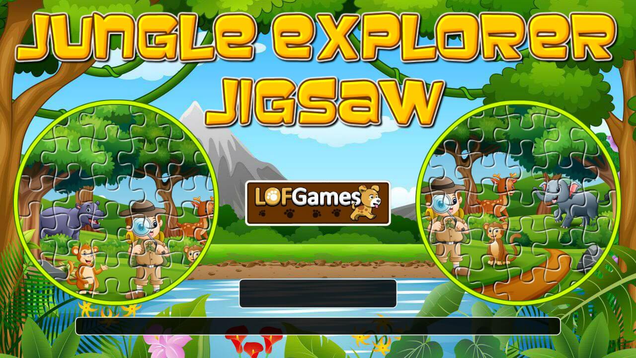 Game Jungle Jigsaw Explorer online
