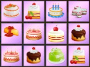 Play Birthday Cakes Memory