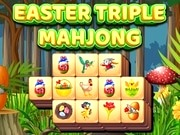 Play Easter Triple Mahjong