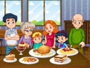 Play Family Dinner Jigsaw