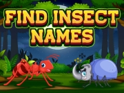 Play Find Insect Names