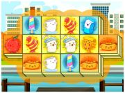 Play Foody Triple Mahjong