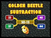 Play Golden Beetle Subtraction