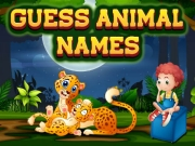 Guess Animal Names