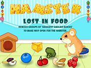 Play Hamster Lost In Food