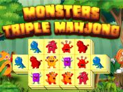 Play Monsters Triple Mahjong