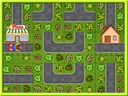 Play Pizza Delivery Puzzles