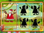 Play Santa Shadow Match