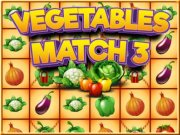 Play Vegetables Match 3