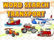 Play Word Search Transport