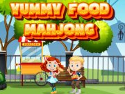 Play Yummy Food Mahjong